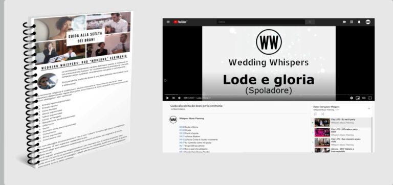 pdf guida brani cerimonia matrimonio